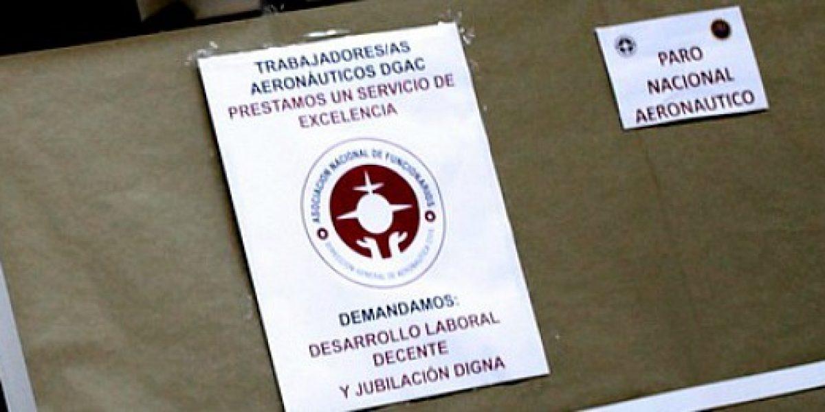 TC suspende causa de trabajadores de la Dgac que quieren pasar de las AFP a Capredena