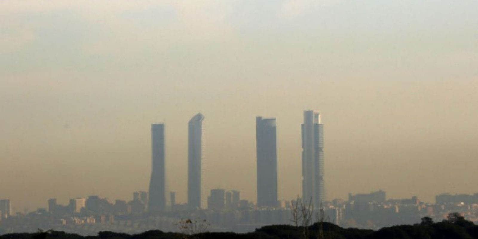 Madrid, contaminado. Foto:Efe. Imagen Por:
