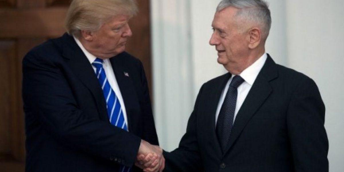 Trump confirma a Mattis como jefe del Pentágono y lo compara con Patton