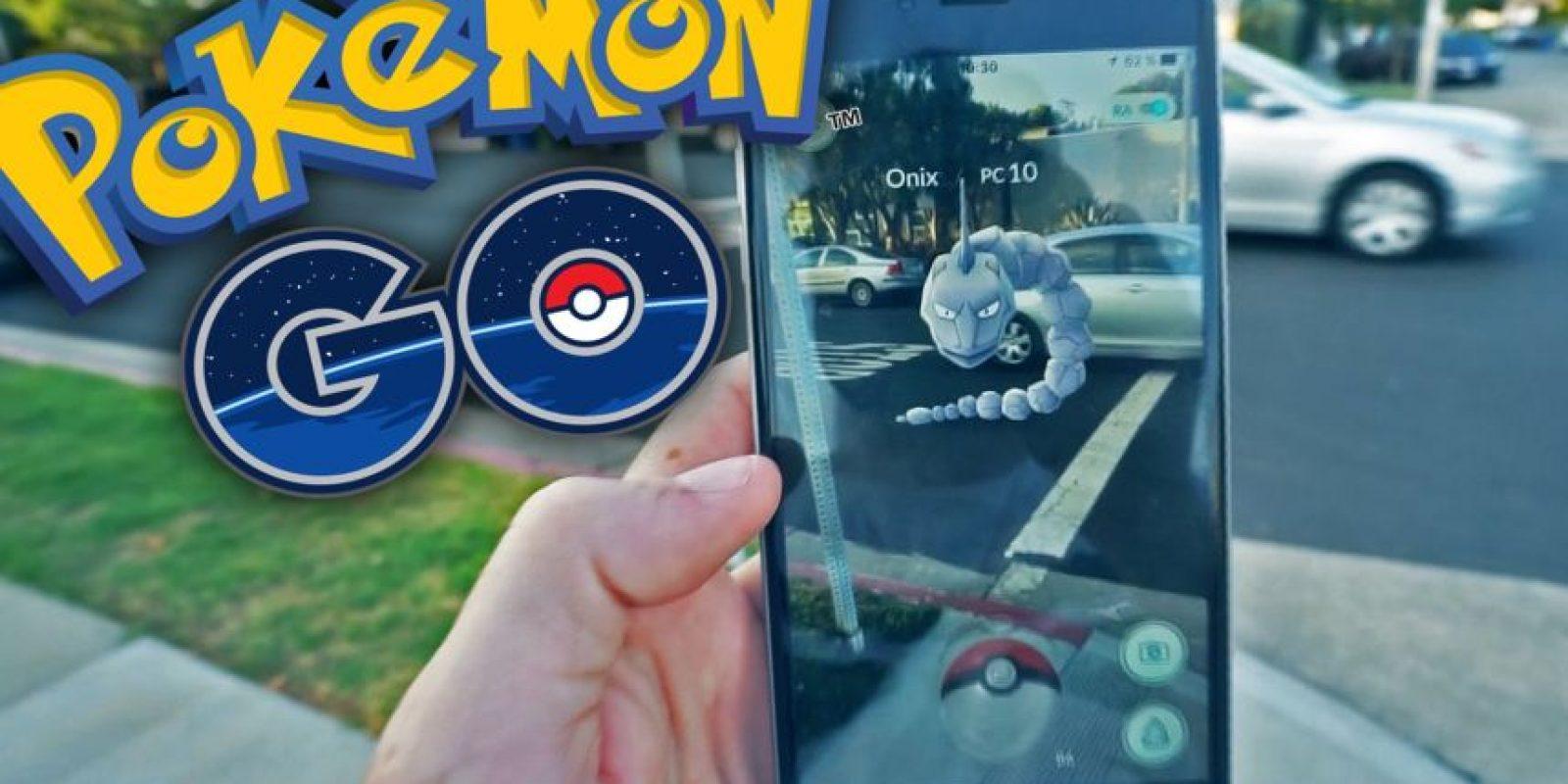 """""""Pokémon GO"""" era el favorito a ganar mejor juego móvil y lo consiguió. A pesar de ello, también se llevó el premio a mejor juego familiar. Foto:Captura. Imagen Por:"""