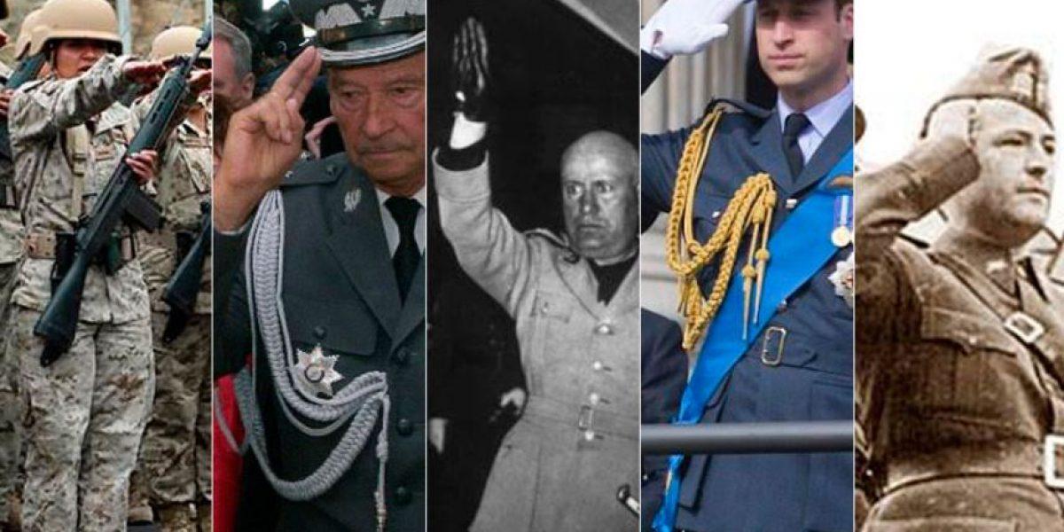 Los diferentes saludos militares que han marcado la historia
