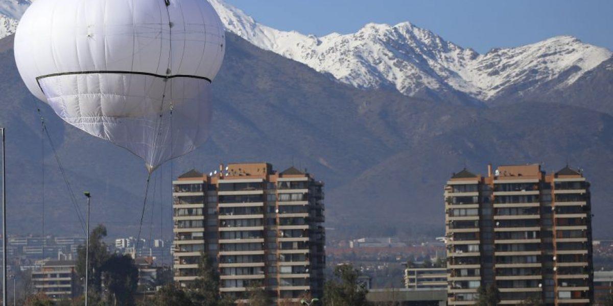 Alessandri estudia instalar globos de vigilancia en Santiago