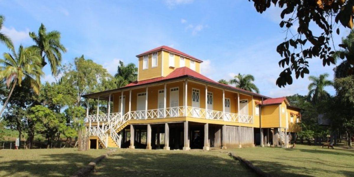 La casa donde creció Fidel Castro