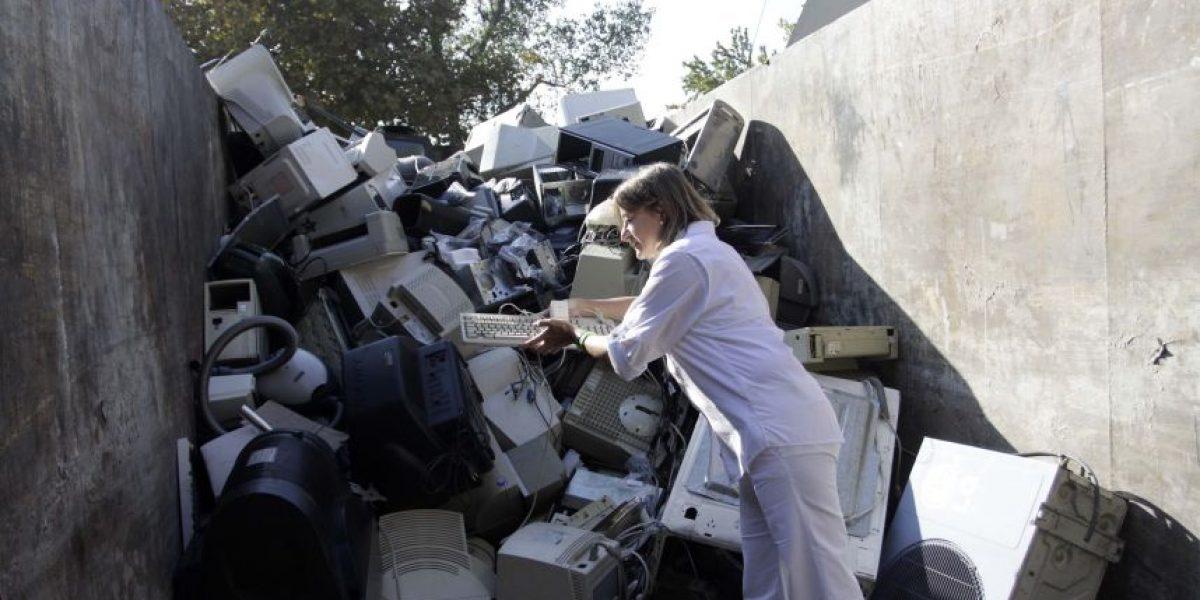La realidad de la basura tecnológica en Chile