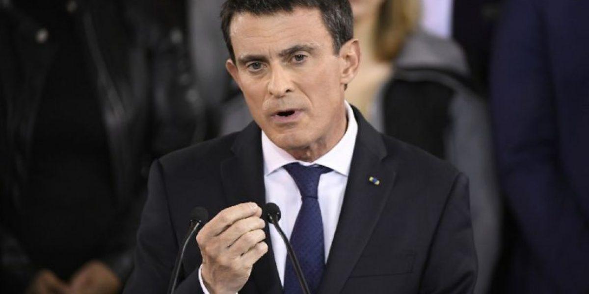 Primer ministro francés Manuel Valls anuncia su candidatura a las elecciones presidenciales