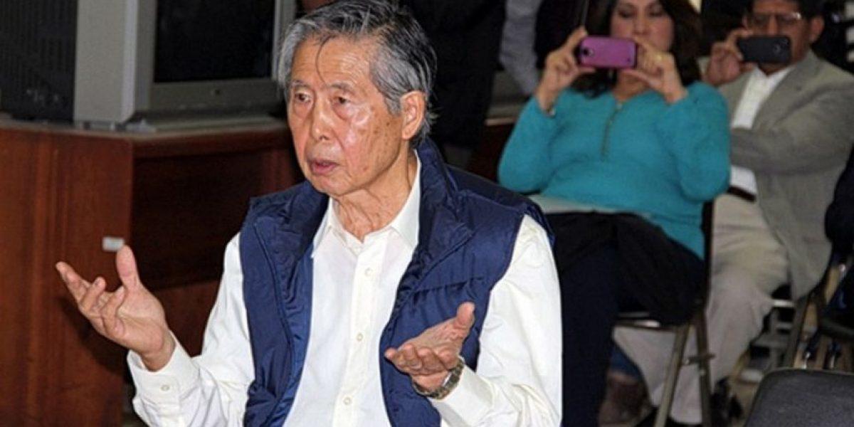 Perú: internan a Fujimori por riesgo de nuevo accidente cardiovascular