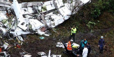 El técnico boliviano Erwin Timirí, sobreviviente del accidente del avión Lamia, en que viajaba el Chapecoense, entregó detalles de la tragedia. Foto:Efe. Imagen Por: