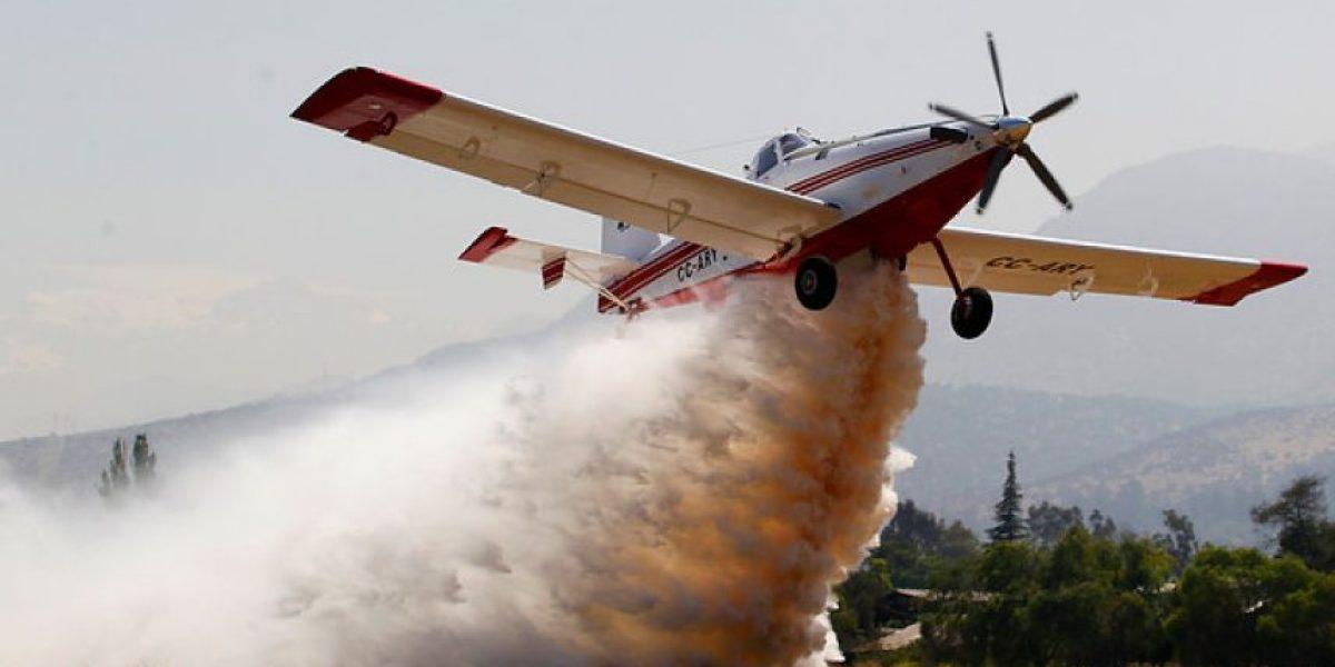 Presentan la nueva avioneta de la Conaf para combatir los incendios forestales
