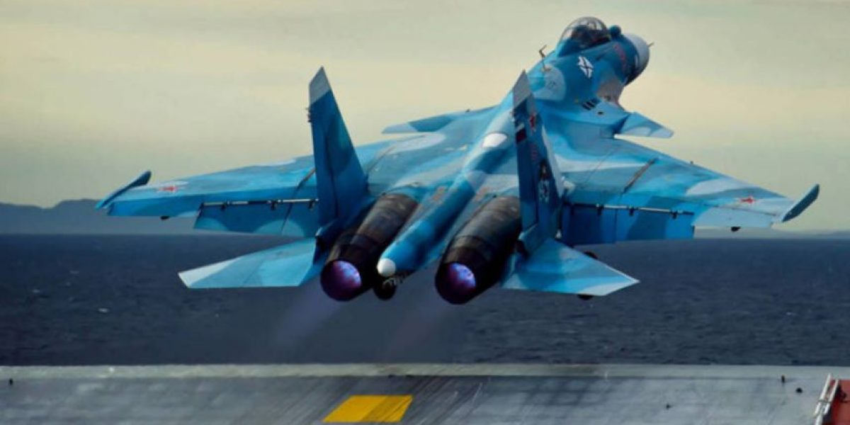 Cae segundo avión de combate ruso en las costas de Siria en menos de un mes