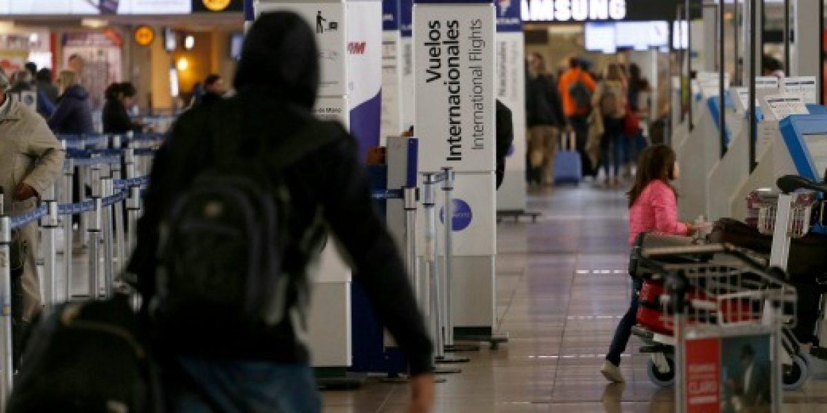 Viajes en avión al extranjero superarán a los vuelos nacionales este fin de semana largo