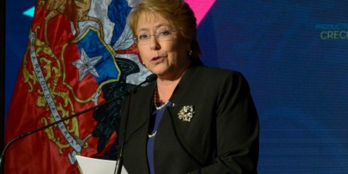 Bachelet asegura que