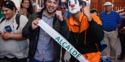Jorge Sharp obtuvo una sorpresiva victoria en las pasadas elecciones y hoy asume como alcalde de Valparaíso. Foto:Agencia UNO. Imagen Por: