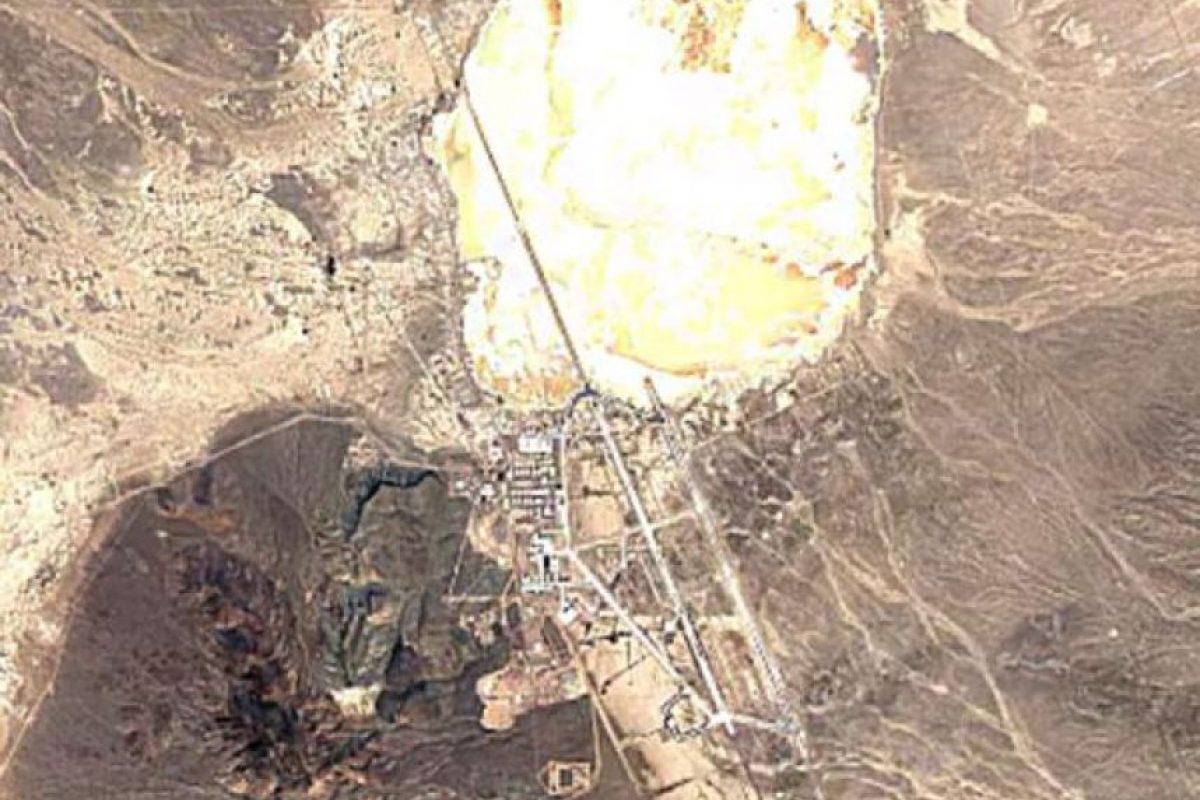 El Área 51 en el año 2016 Foto:Google Maps. Imagen Por: