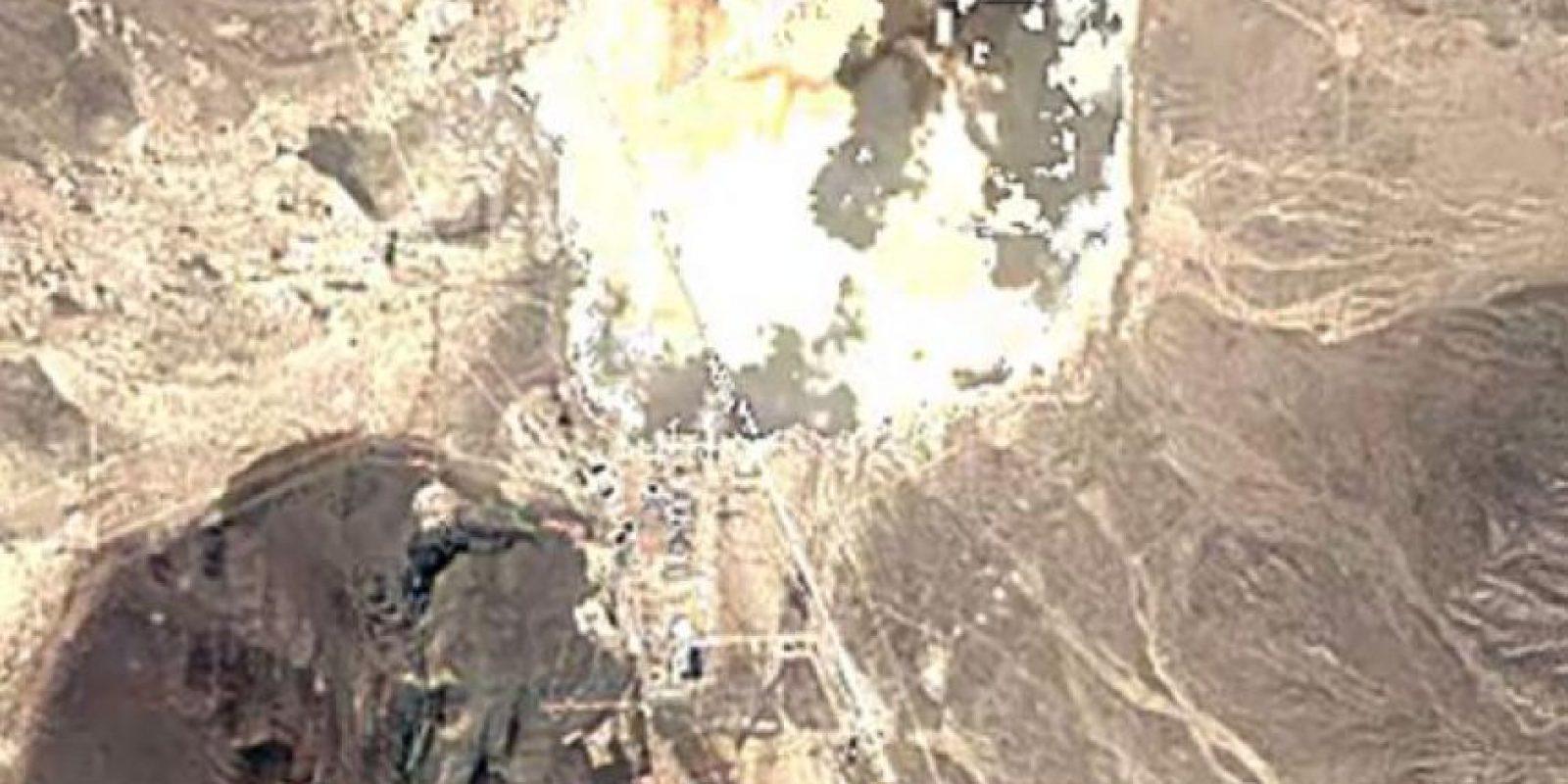 El Área 51 en el año 2007 Foto:Google Maps. Imagen Por: