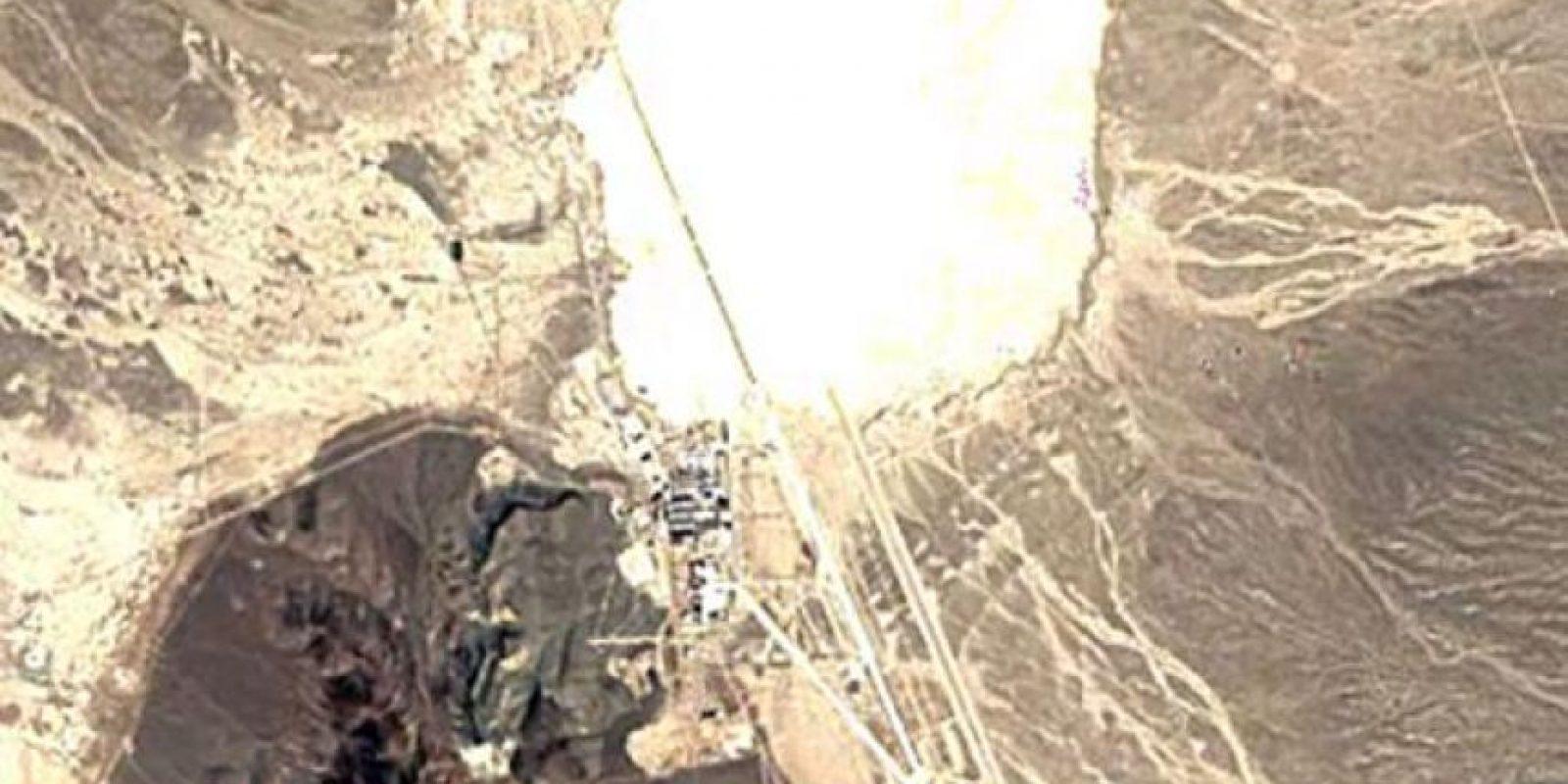 El Área 51 en el año 1990 Foto:Google Maps. Imagen Por: