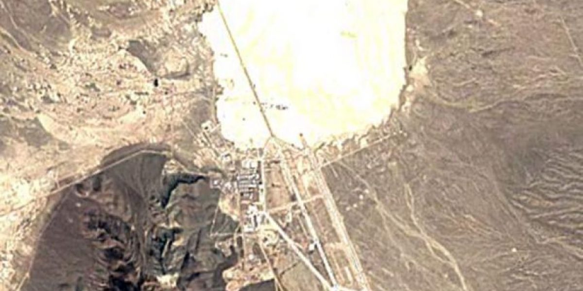 Área 51: las fotografías satelitales que alimentan las teorías alienígenas