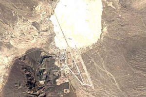 El Área 51 en el año 1984 Foto:Google Maps. Imagen Por:
