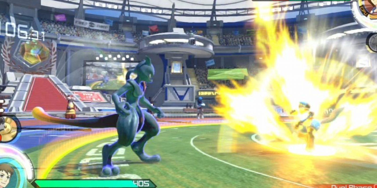 Puedes elegir pokemones como Mew Two, Charizard, Gengar o Pikachu. Pero también pokemones de otras generaciones más nuevas como Lucario. Foto:Bandai Namco. Imagen Por: