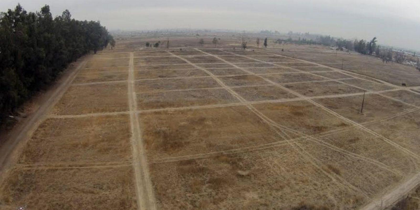 Así luce el terreno donde se construirá el Nuevo Hospital Sótero del Río. Foto:Agencia Uno. Imagen Por: