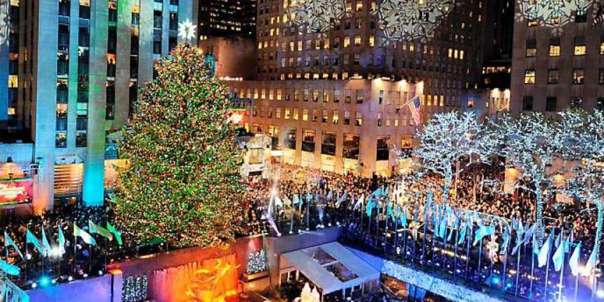 Hombre intentó quemar el árbol de Navidad más famoso del mundo y provocó operativo antiterrorista