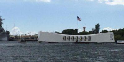 Memorial del USS Arizona en Pearl Harbour. Foto:Efe. Imagen Por: