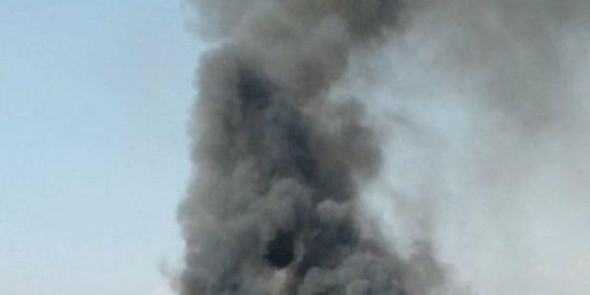 Incendio en Maipú deja al menos 17 viviendas destruidas