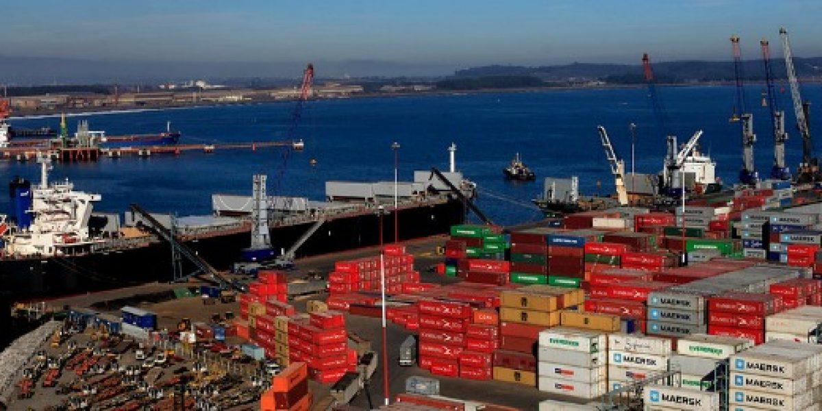 Chile anota superávit comercial de 43,14 millones de dólares en noviembre