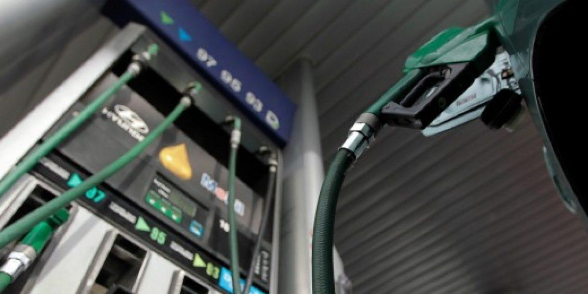 Precio de todos los combustibles sube este jueves
