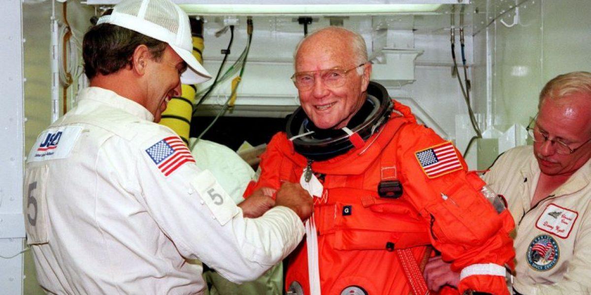 Legendario astronauta John Glenn muere a los 95 años