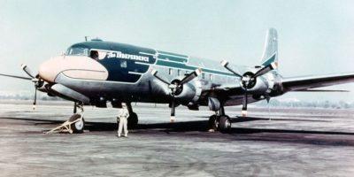 El Independence. Un Douglas VC-118 Liftmaster que prestó servicios entre 1947 a 1953 Foto:Boeing. Imagen Por: