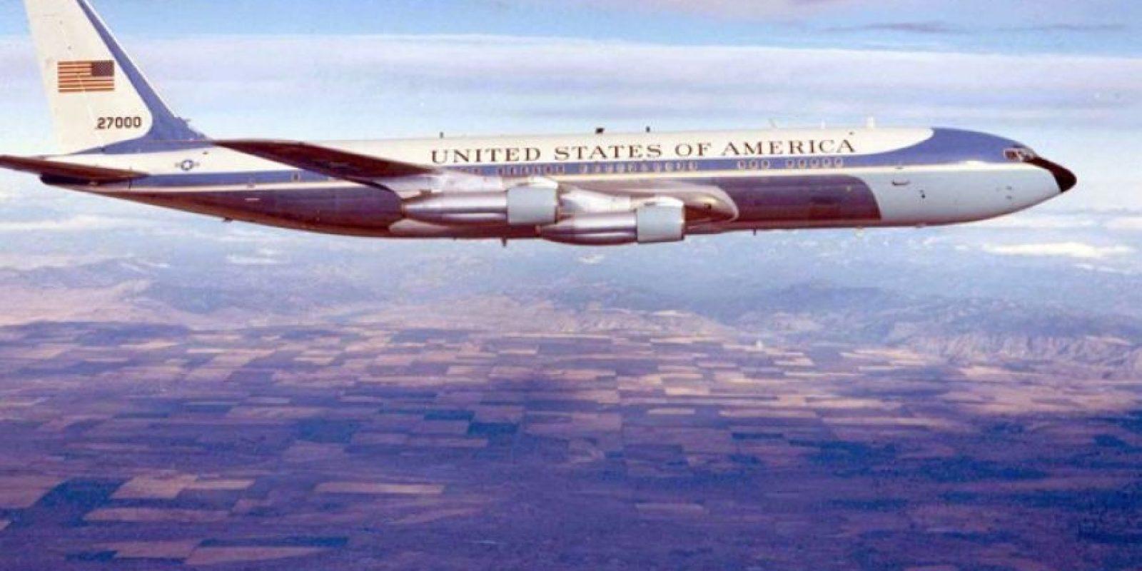 Otro 707 que se sumó en 1972. Estos dos modelos estuvieron en funcionamiento hasta 1990 Foto:Boeing. Imagen Por:
