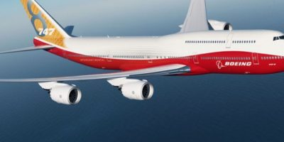 El Boeing 747-800. Dos aeronaves de este modelo reemplazarían a los actuales 747-200 en 2017, pero los dichos de Trump dejaron todo en suspenso Foto:Boeing. Imagen Por: