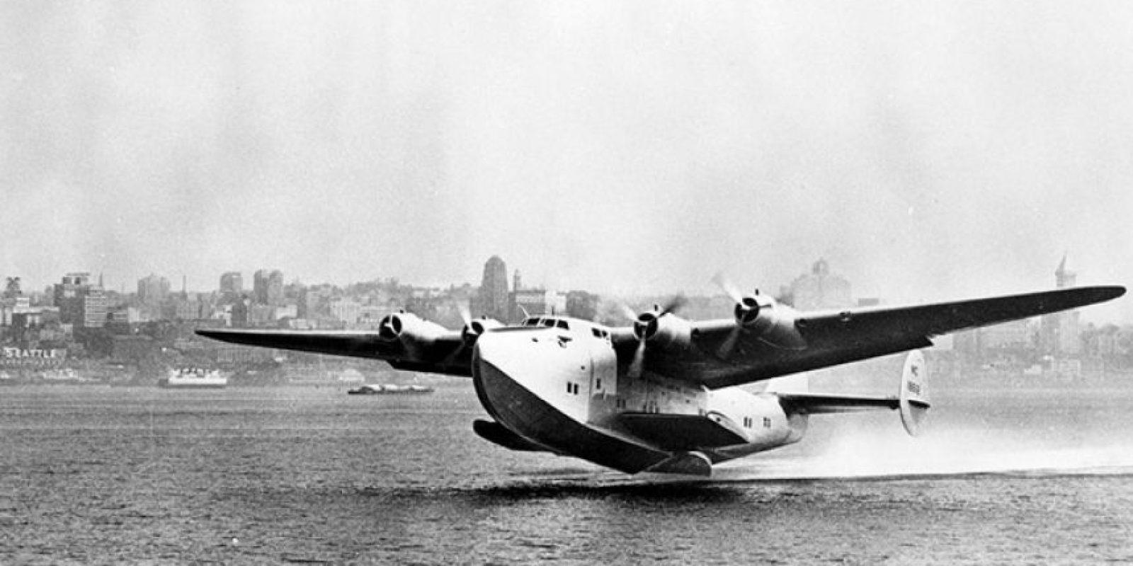 Boeing 314 Clipper fue usado por Franklin D. Roosevelt en 1943 Foto:Boeing. Imagen Por: