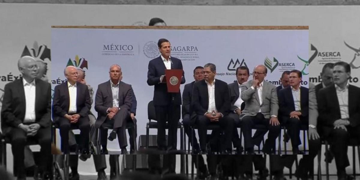 Peña Nieto inauguró la Expo México Alimentaria 2016