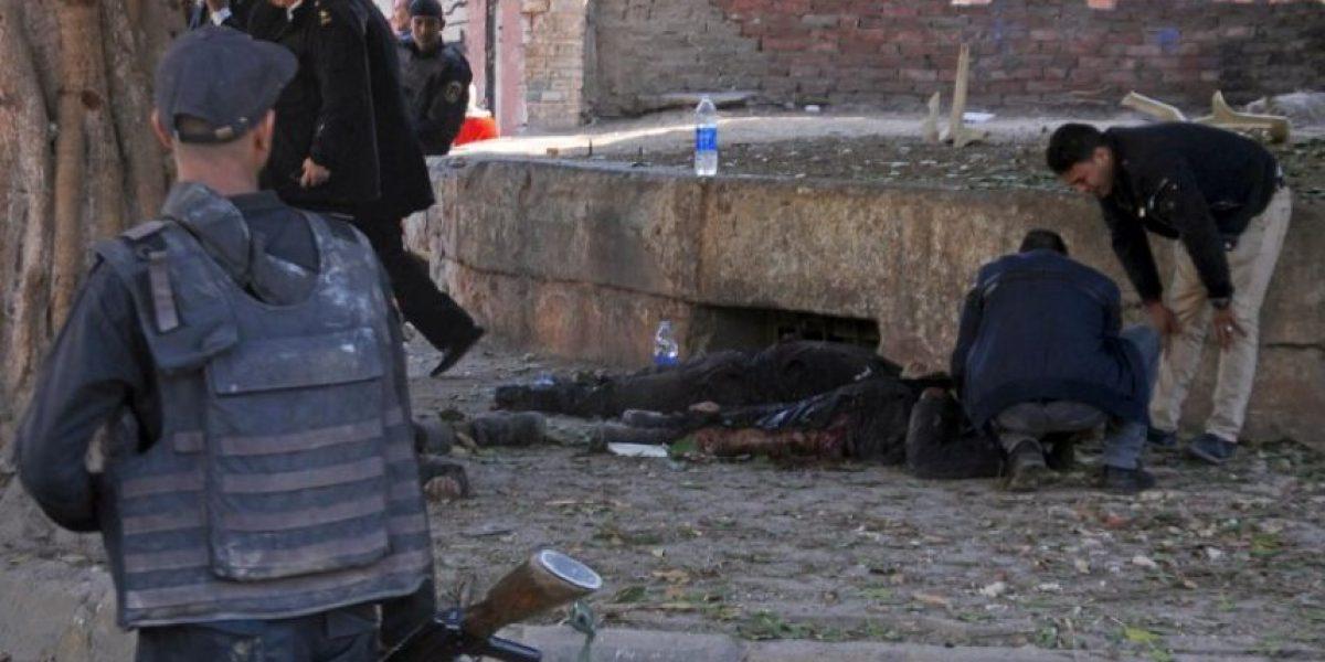 Violenta explosión en El Cairo deja un saldo de seis policías fallecidos
