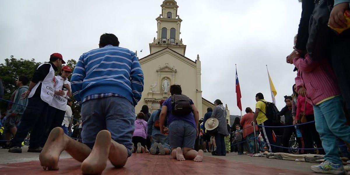 Más de un millón de fieles peregrinaron a Lo Vásquez