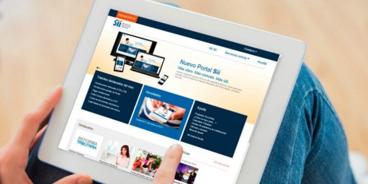 SII lanza nueva web enfocada en realización de trámites en línea