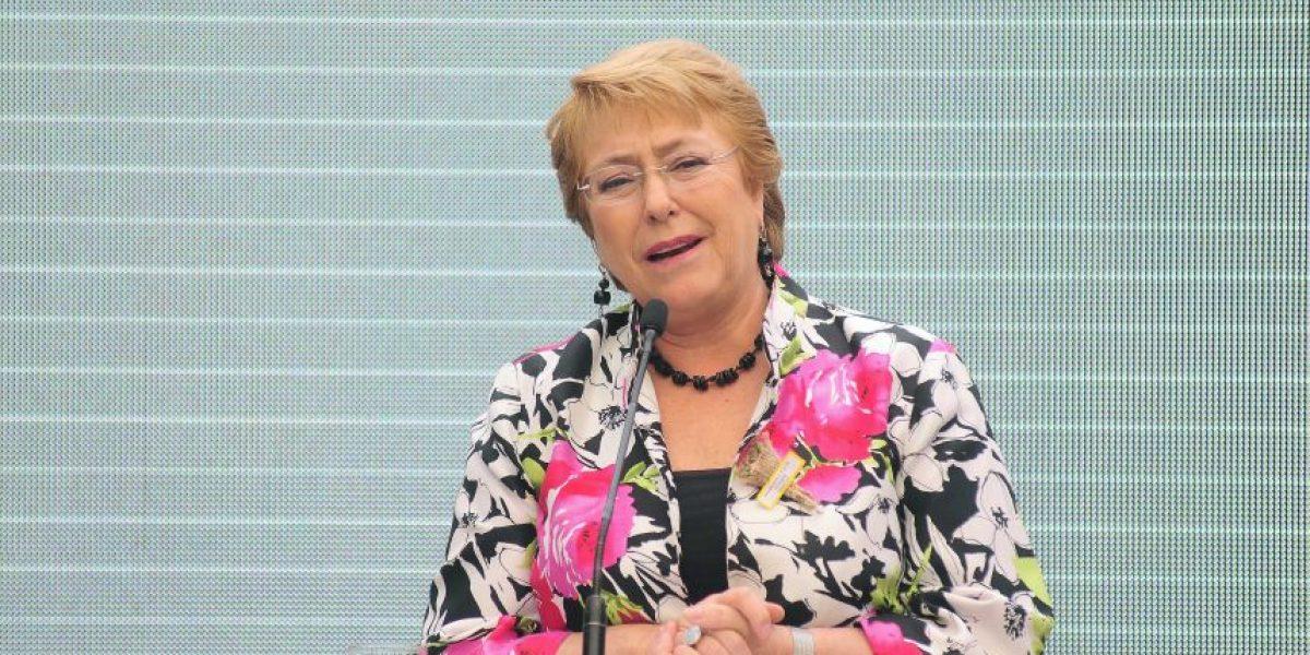 Bachelet realiza segundo viaje durante su mandato a la Araucanía