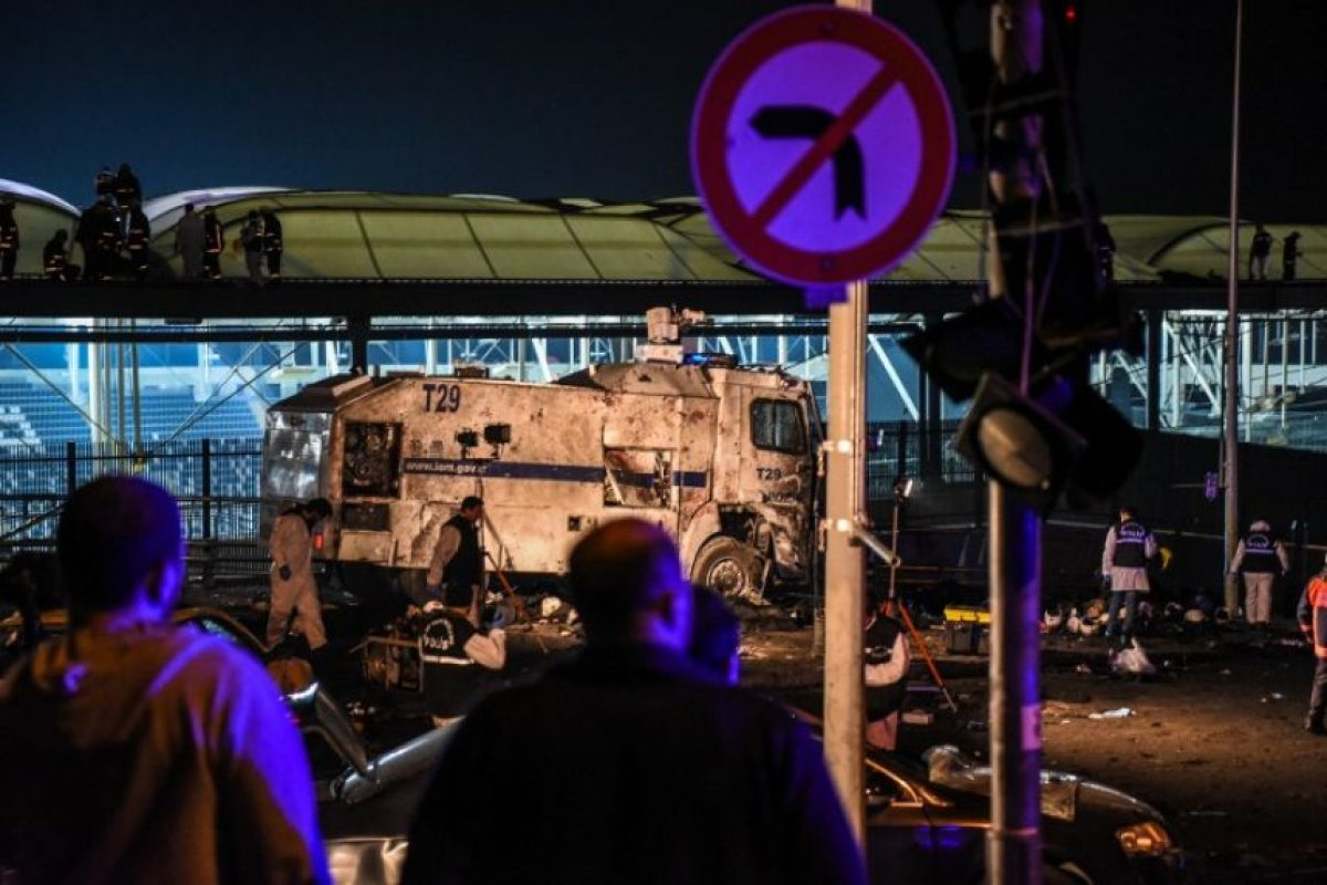 Los indicios apuntan que el ataque fue perpetrado por el grupo armado Partido de los Trabajadores del Kurdistán (PKK). Foto:Afp. Imagen Por: