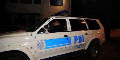 El crimen quedó al descubierto en un domicilio de la comuna de Puente Alto, en la capital, y es investigado por la PDI. Foto:Agencia Uno. Imagen Por: