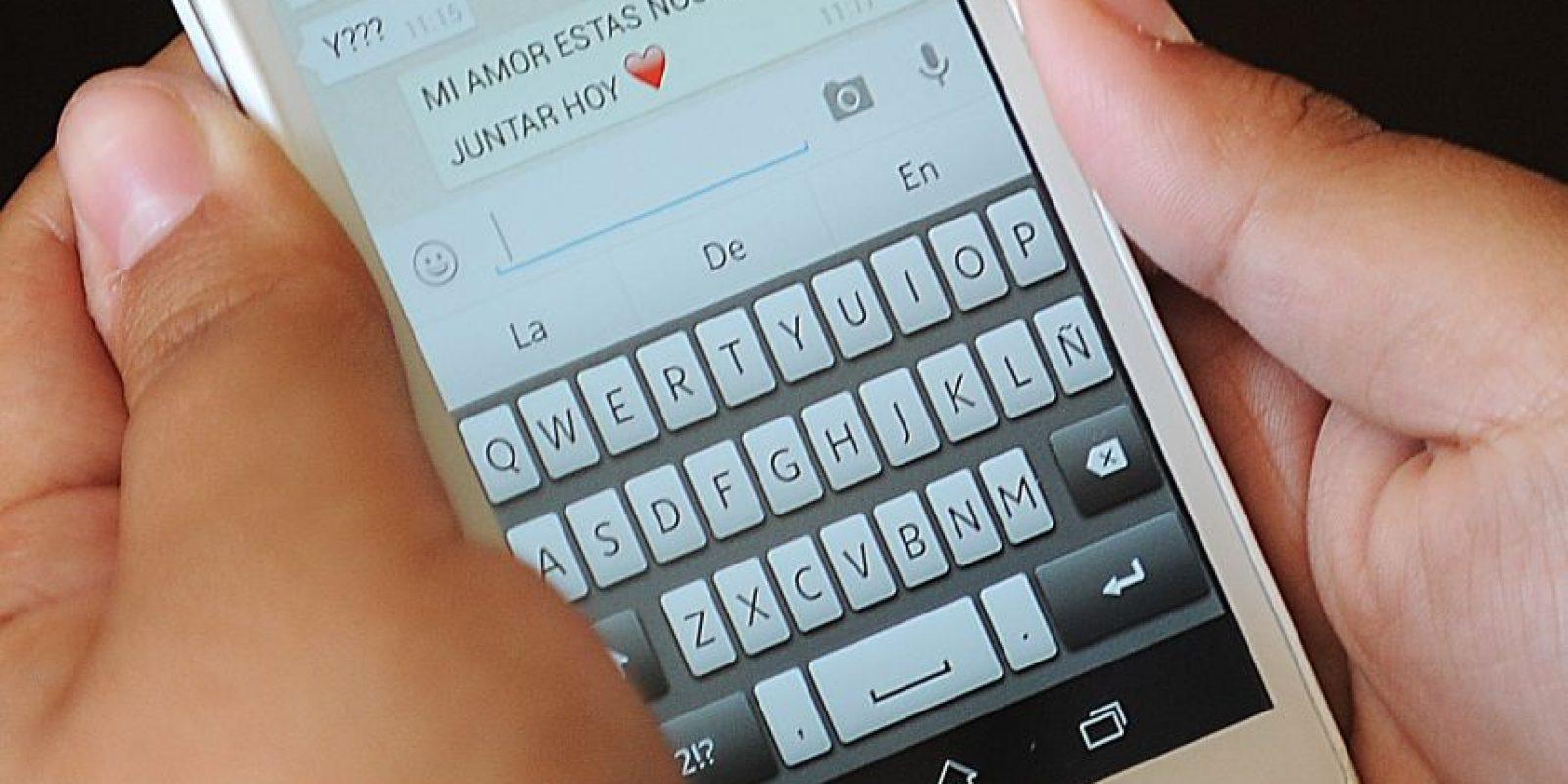WhatsApp es la aplicación de comunicación con más usuarios activos. Foto:Agencia UNO. Imagen Por: