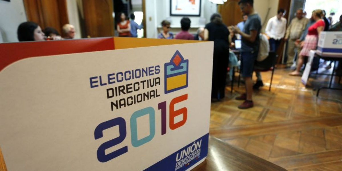 Elección directiva nacional de la UDI: sistema de voto electrónico registra problemas