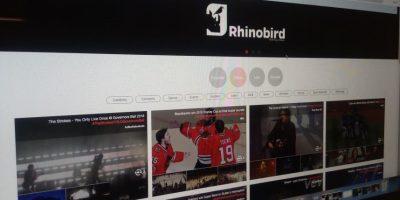 """Así se ve la aplicación """"Rhinobird"""" en su versión desktop. Foto:Consuelo Rehbein. Imagen Por:"""