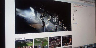 La aplicación permite ver todos los vídeos disponibles de un evento en particular. Foto:Consuelo Rehbein. Imagen Por: