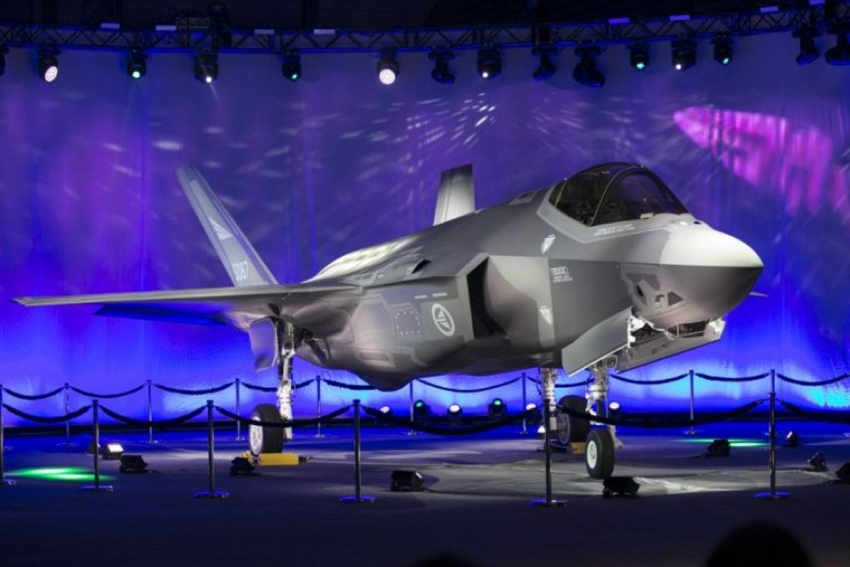 El caza F-35A, su versión standard. Foto:AFP. Imagen Por: