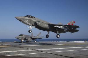 El caza F-35C, su versión especial para portaaviones. Foto:Lockheed Martin. Imagen Por: