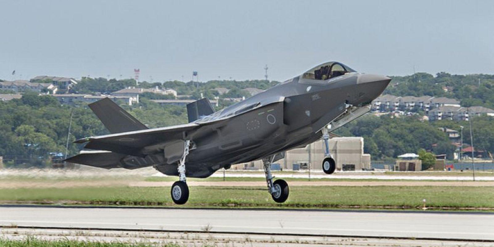 El caza F-35A, su versión standard. Foto:Lockheed Martin. Imagen Por: