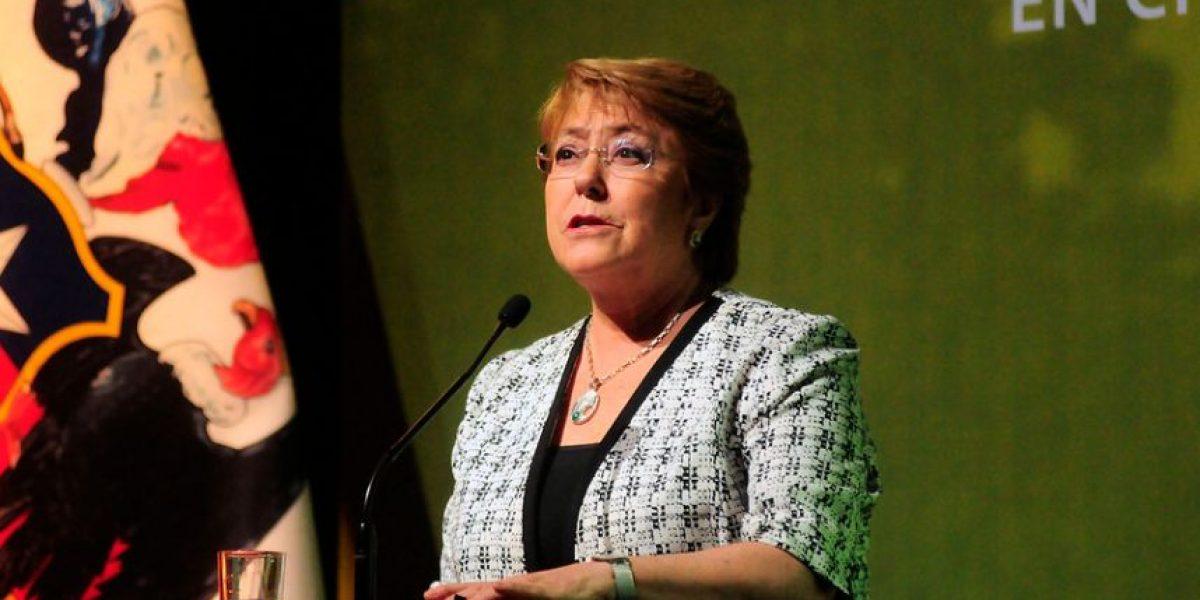 Bachelet tras recibir informe del INDH: