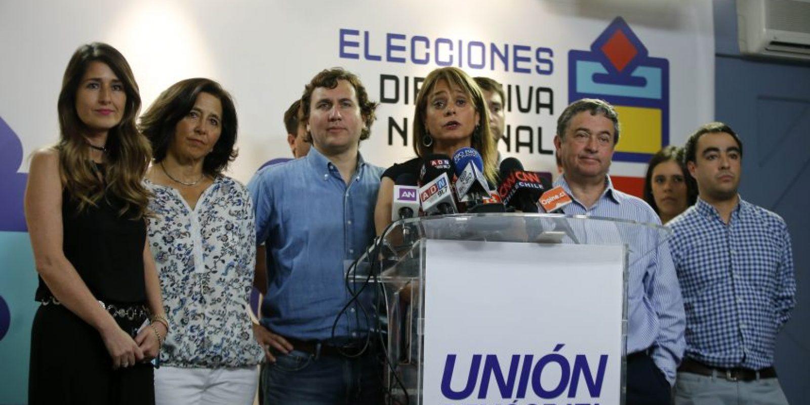 """Por primera vez en su historia, el partido de la Unión Demócrata Independiente (UDI) eligió a su directiva nacional bajo el sistema de """"un militante, un voto"""". Foto:Aton. Imagen Por:"""
