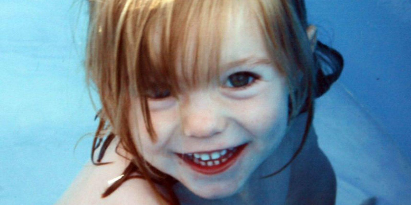 Madeleine McCann Foto:Reproducción. Imagen Por: